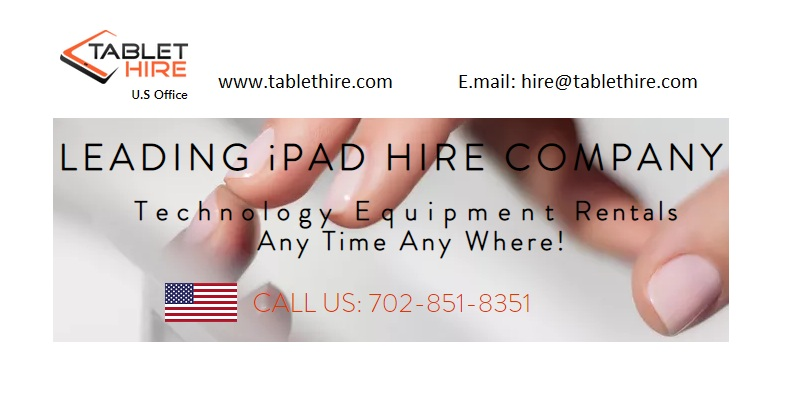 iPad Hire USA, iPad Rental for Events, Tablet Hire USA