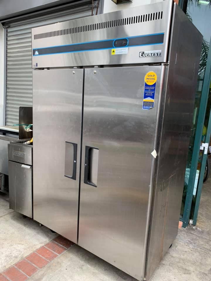 Everest 2 Door Commercial Refrigerator - Restaurant Equipment