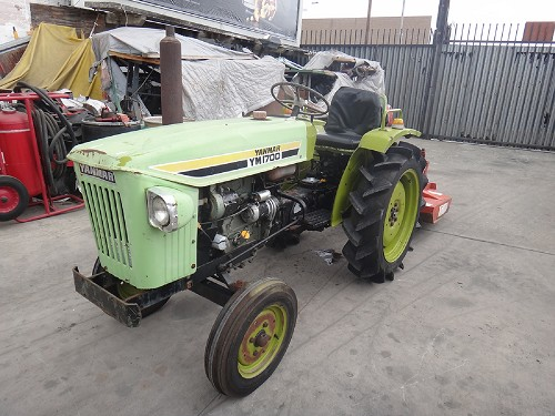 YANMAR YM1700 COMPACTOR TRACTOR WITH BRUSH CUTTER