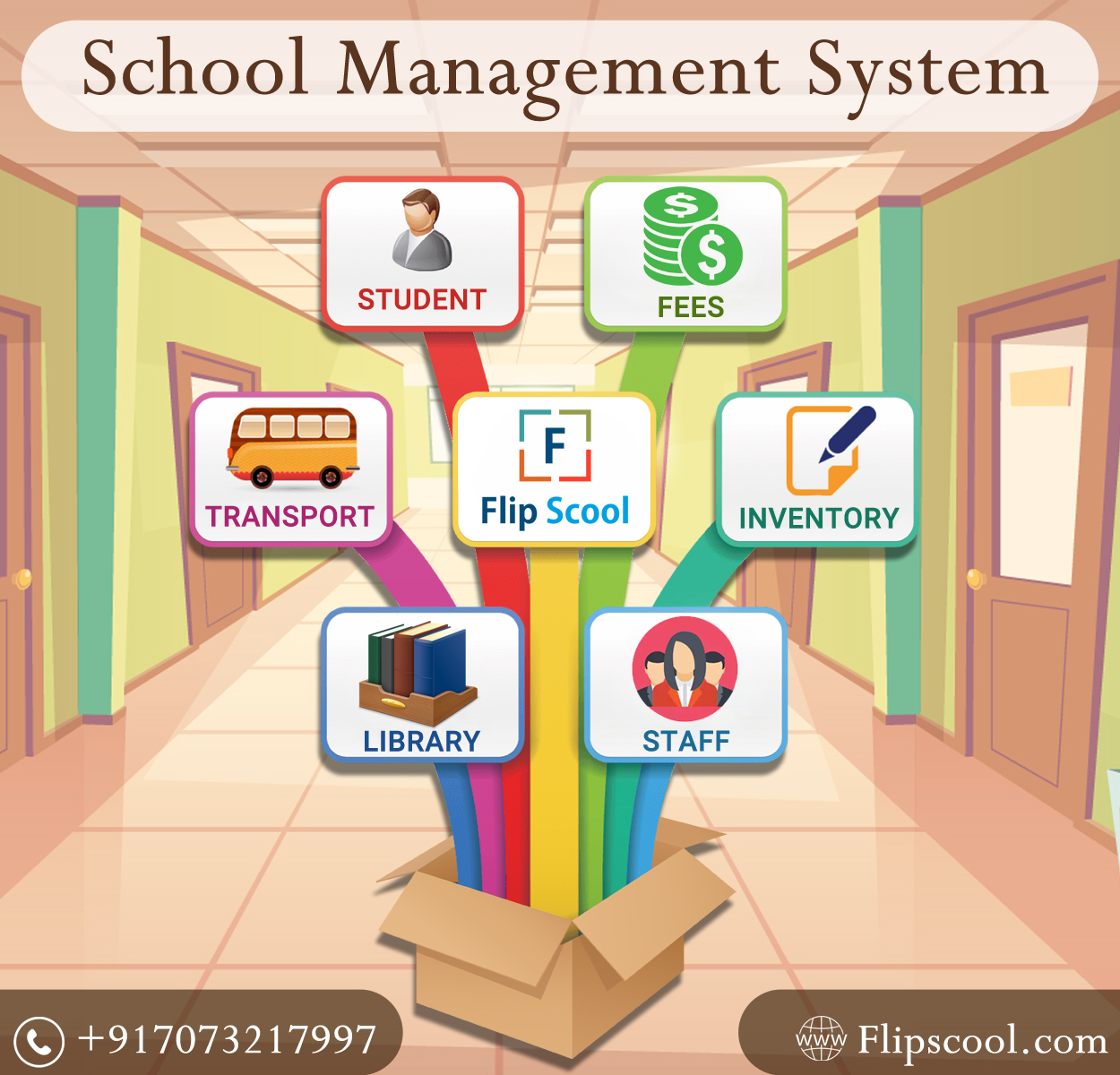 Best School Management System in India |Flipscool
