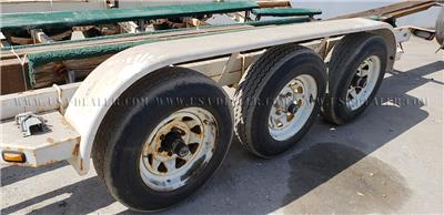 1998 TRAIL-RITE 3 AXLE TRAILER