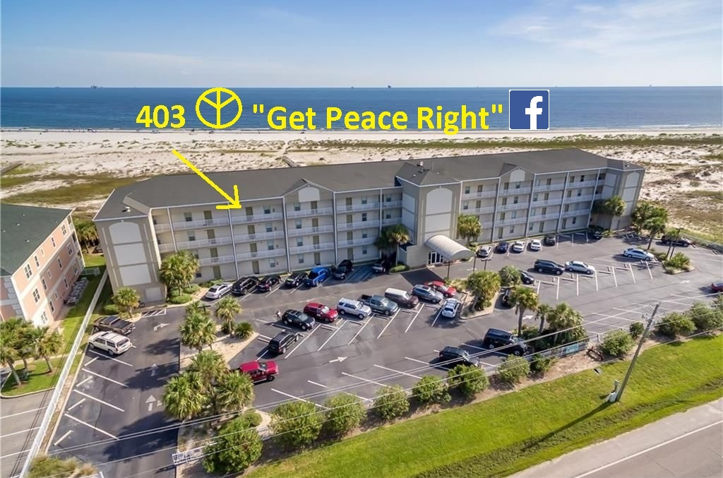 "Penthouse Condo 403 at ""The Inn"" (Dauphin Island)"