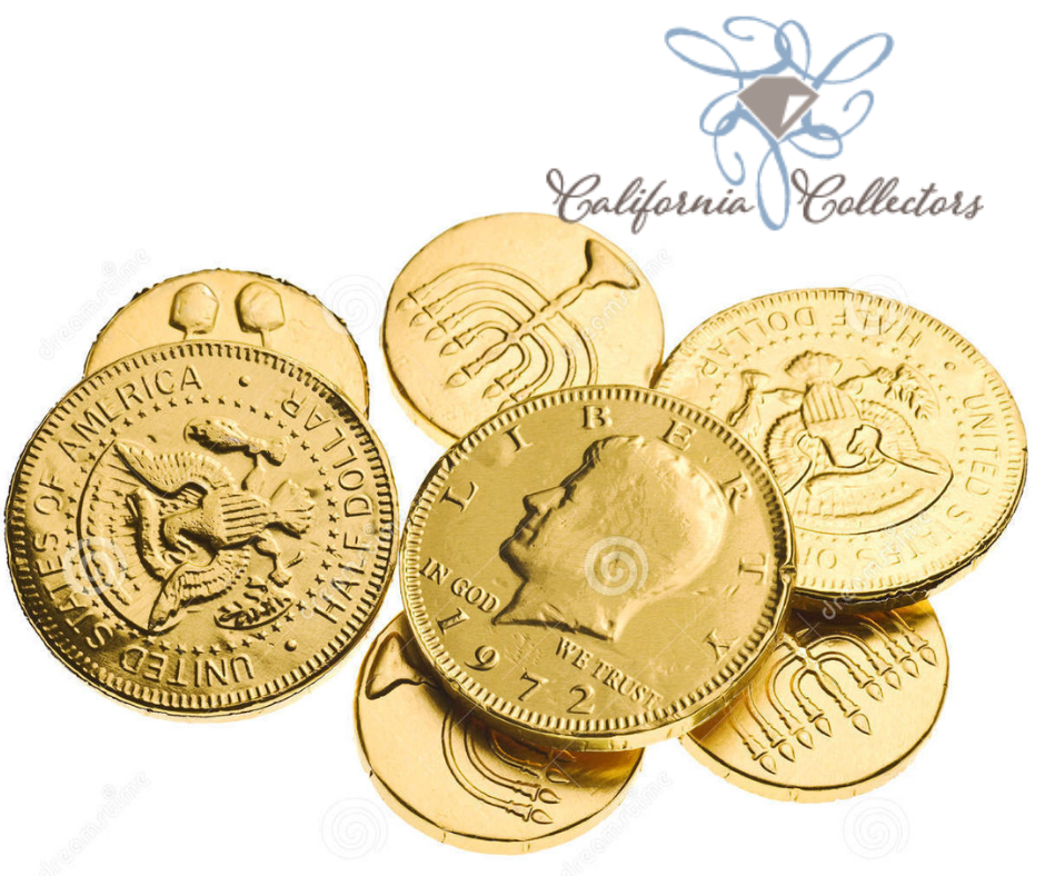 Look at Personalized gold coins - California Collectors