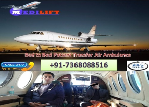 Get Medical Emergency Air Ambulance Service in Siliguri