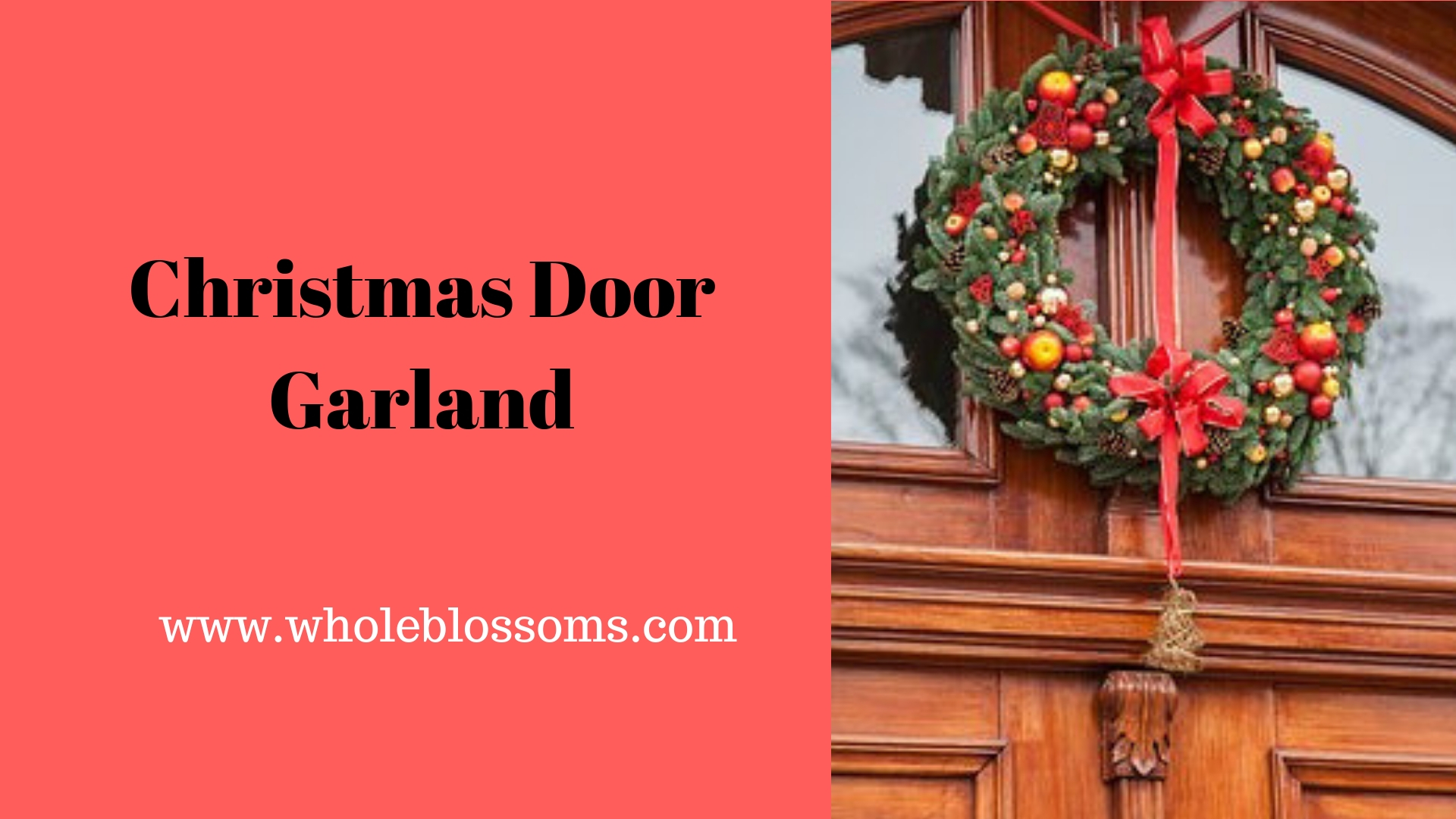 Purchase wholesale Christmas wreaths and garlands