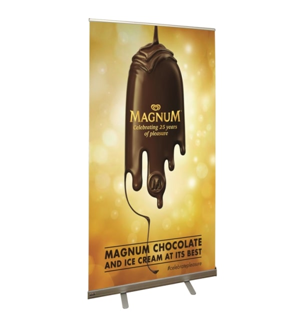 Retractable Banner Stand With High Quality And Easy Transport | USA
