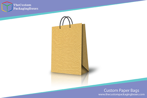 Custom Paper packaging bags with logo