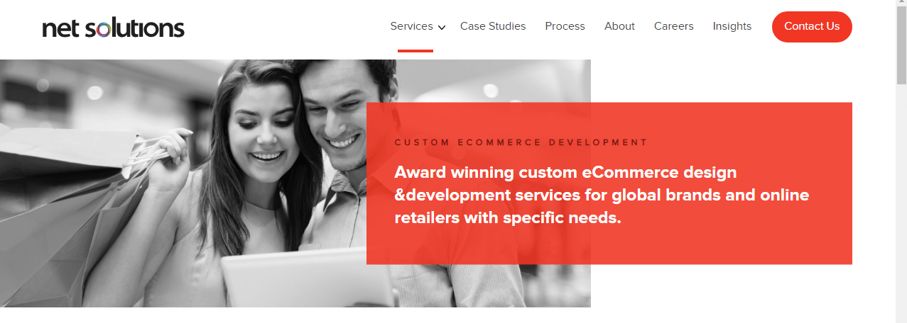 Custom ECommerce Development Services