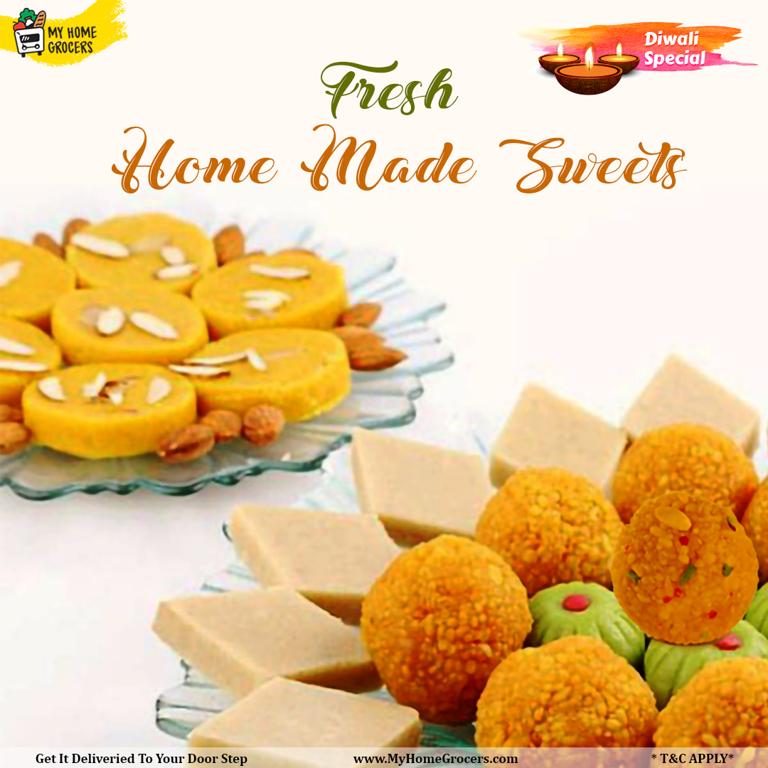 Diwali Special Fresh Homemade Sweets Online Mckinney,Texas - MyHomeGrocers