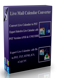 How to Convert Live Mail Calendar to PST