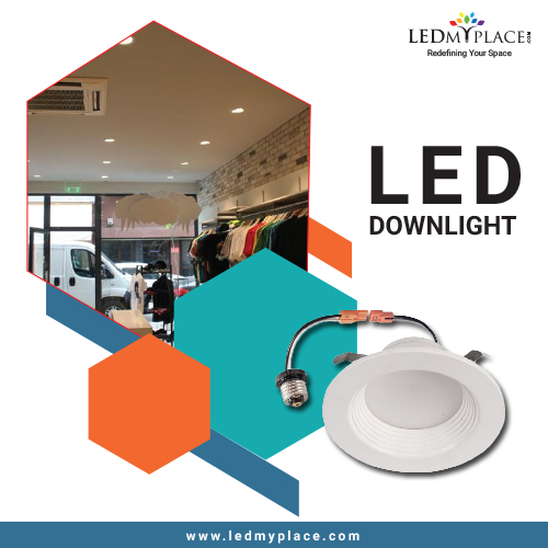 Grab the Focus on your stucco By Our LED Downlights.
