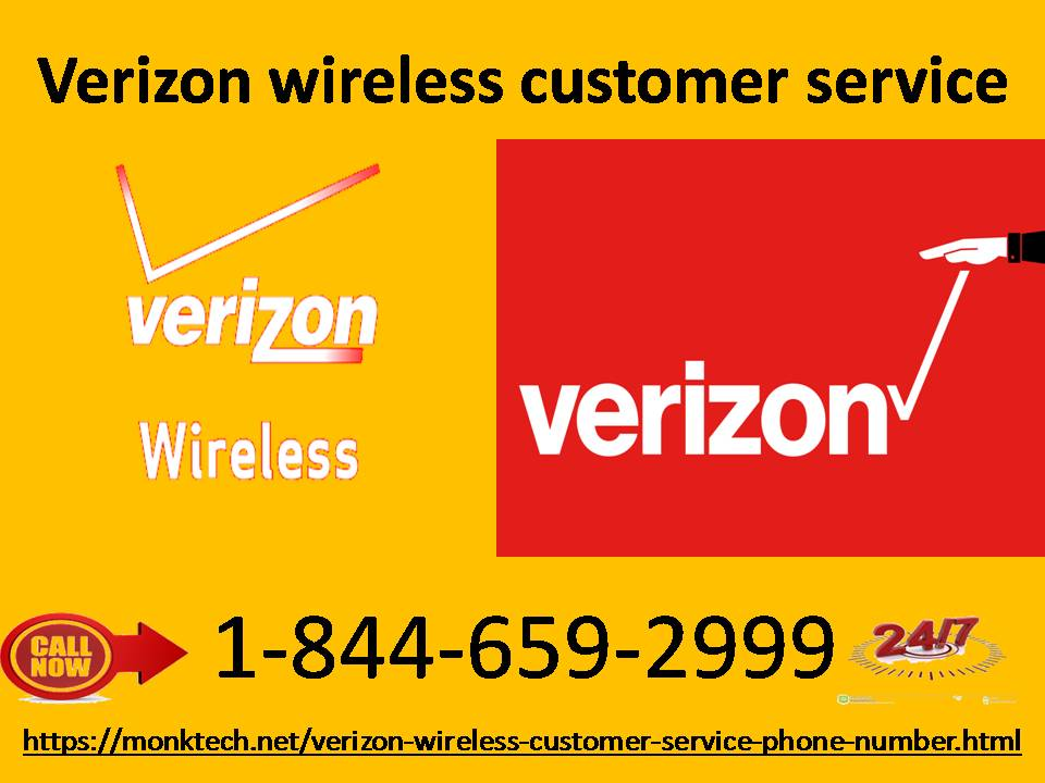 Solve the technical snags through Verizon wireless customer service 1-844-659-2999