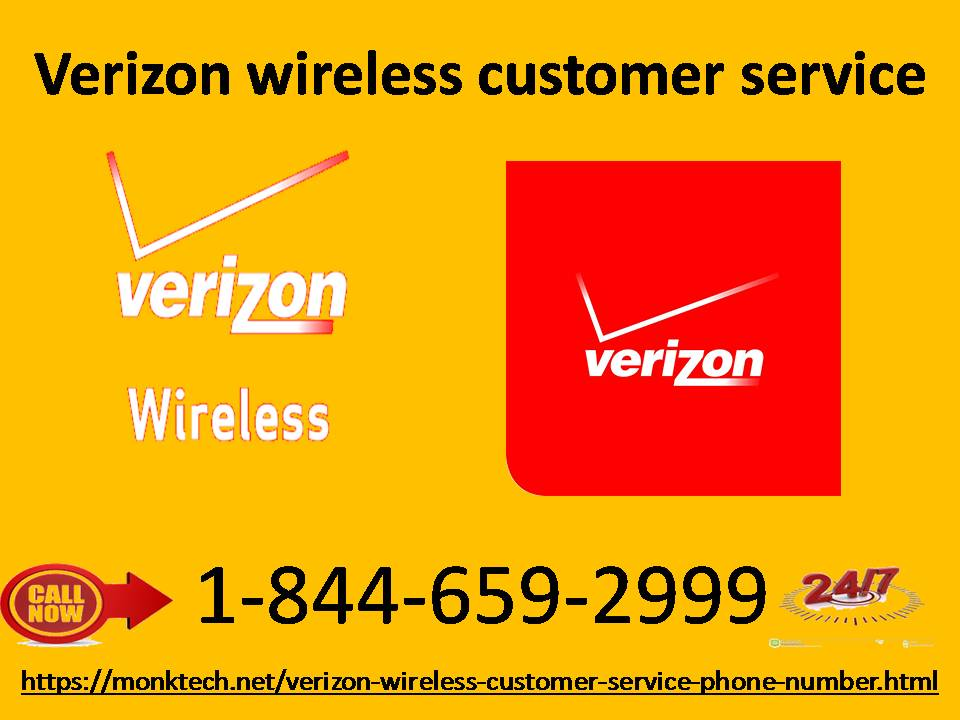 Get yourself connected to techies through Verizon wireless customer service 1-844-659-2999