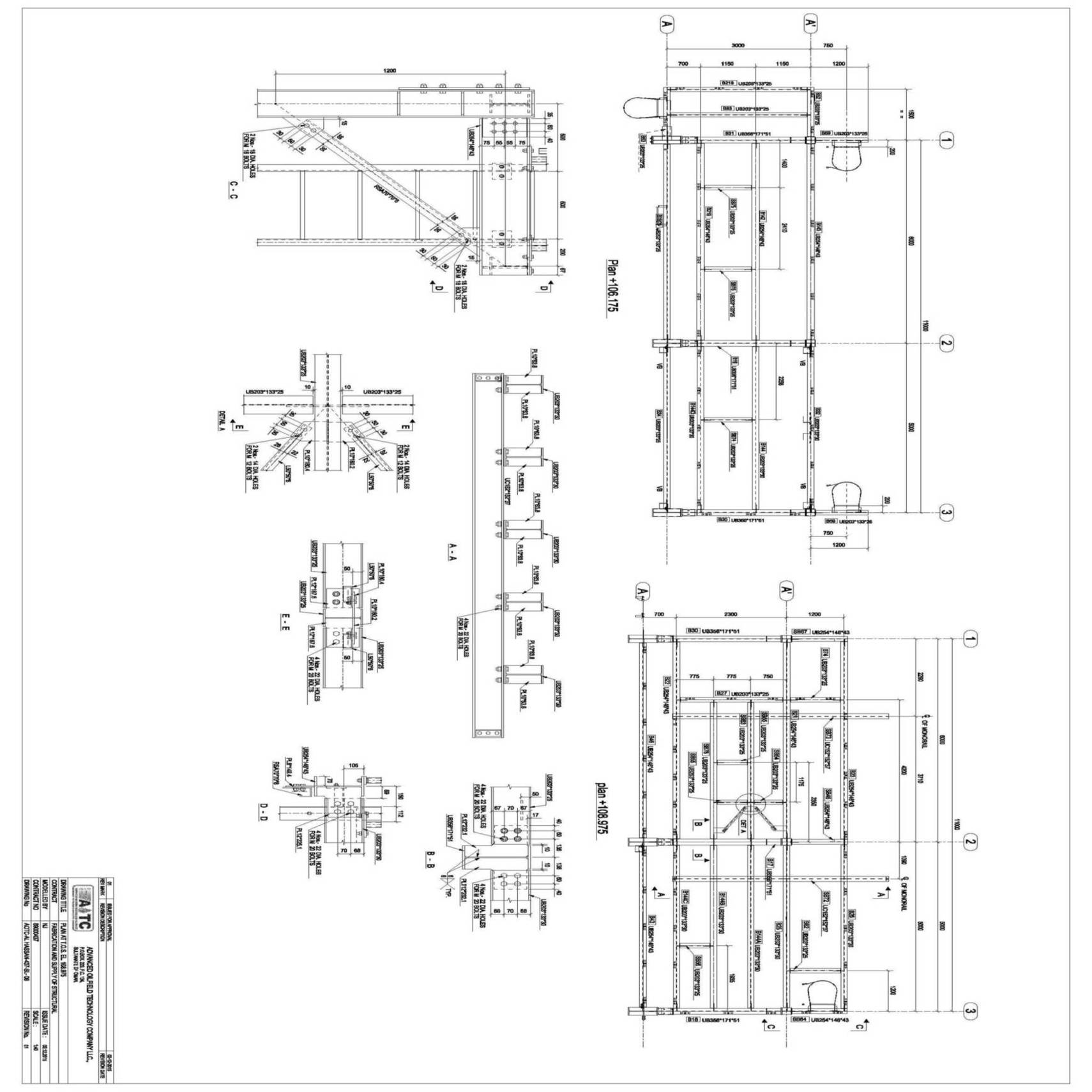 Steel Fabrication Drawings Services - Silicon Info