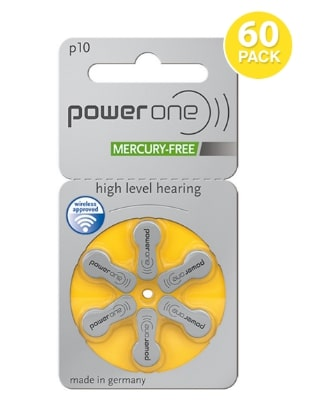 Buy Hearing aid batteries size 10
