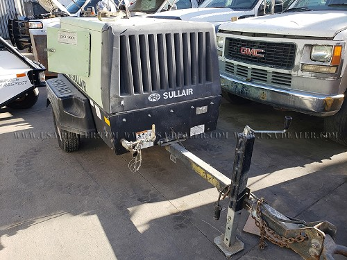2004 SULLAIR 49HPDPQJD TOW AIR COMPRESSOR