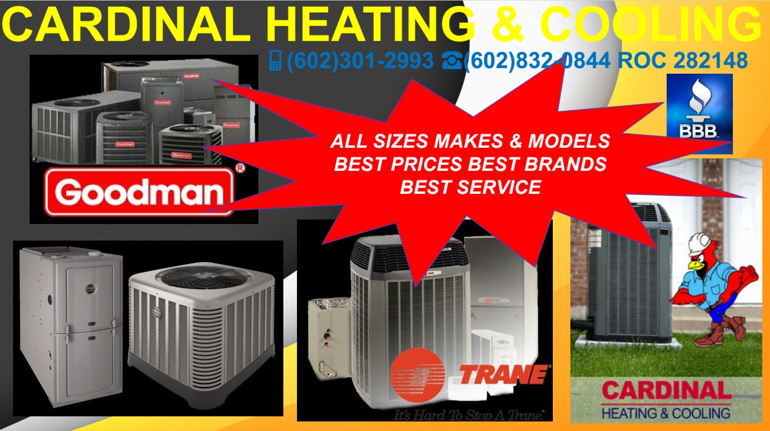 HUGE SALE ON ALL AC/HEATING UNITS RESIDENTIAL/COMMERCIAL HVAC SERVICE & REPLACEMENT