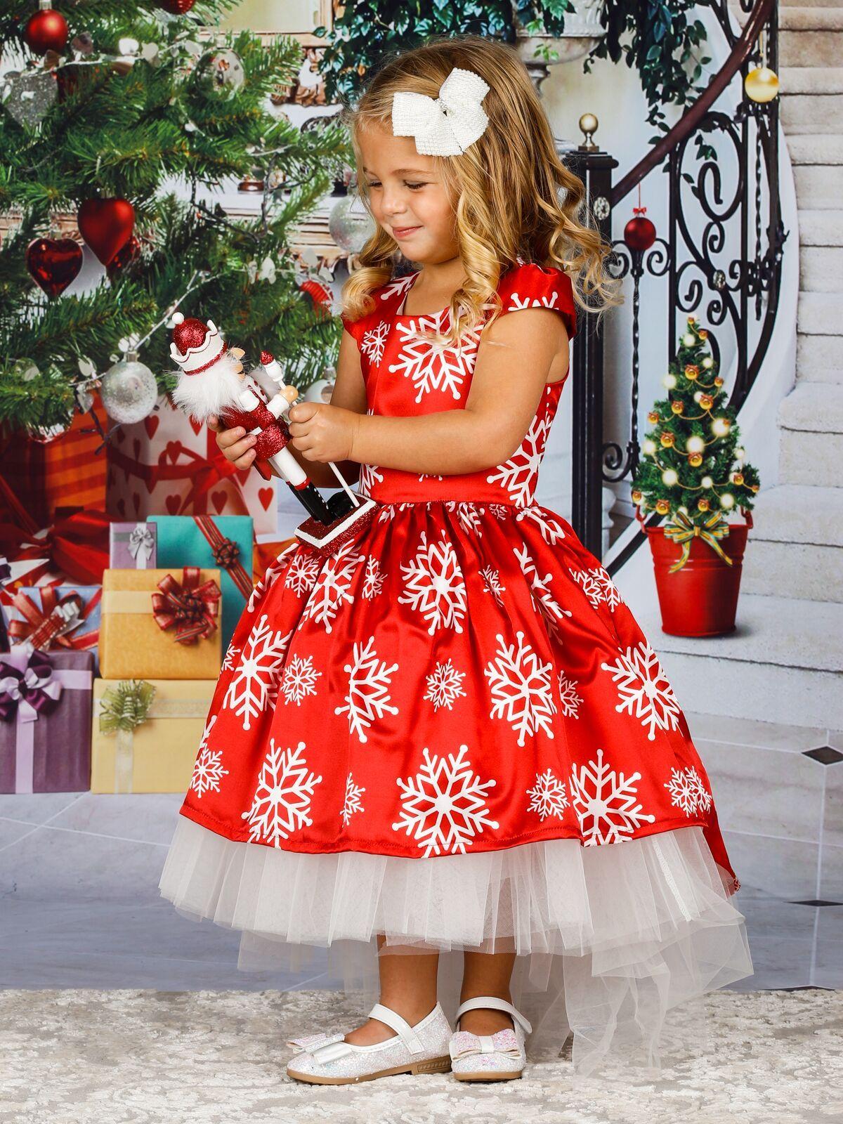 Elegant Christmas Dresses For Girls at Mia Belle Baby