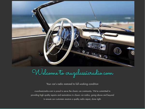 Classic Car Stereo and Radio Conversions
