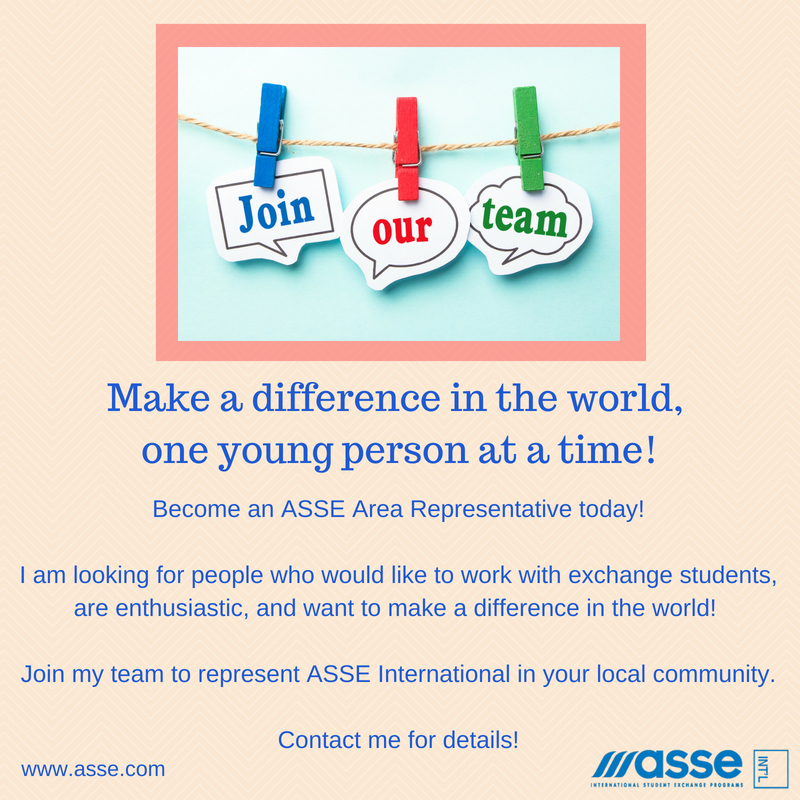 Volunteer to change the world by hosting an International Exchange Student