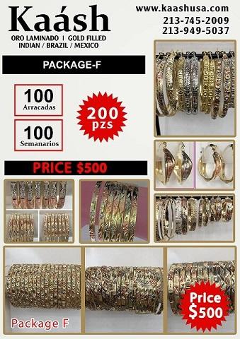 Kaash : Oro Laminado, Gold Plated Jewelry
