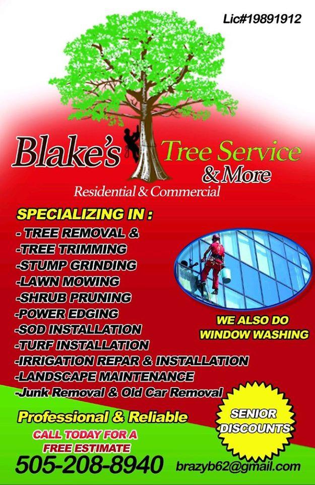 Blake's Tree Service & More