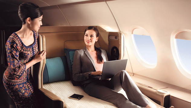 Business class tickets to India from USA