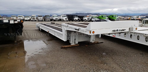 1992 TRAIL KING TK70SA-462 EQUIPMENT TRAILER