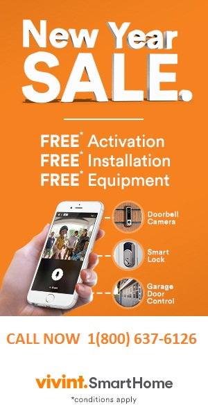 VIVINT HOME SECURITY 1800-637-6126 $0 ACTIVATION FEE | FREE EQUIPMENT WORTH $1500
