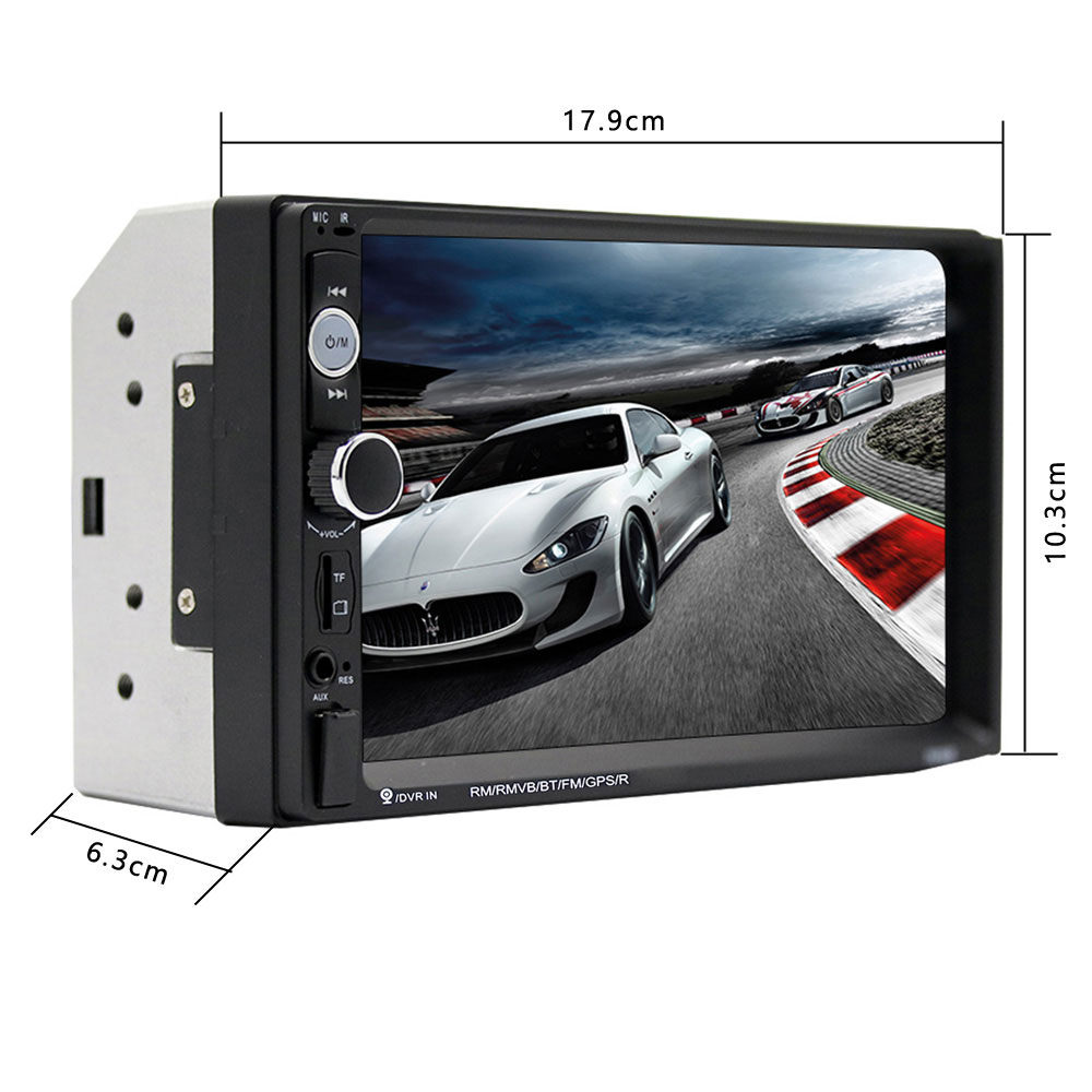 Car Radio  MP5 Touch Screen Digital Display with free shipping worldwide