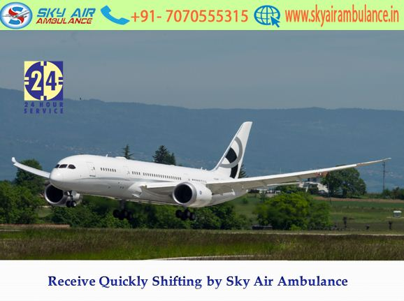 Avail Best Care and Advanced Air Ambulance in Shillong by Sky