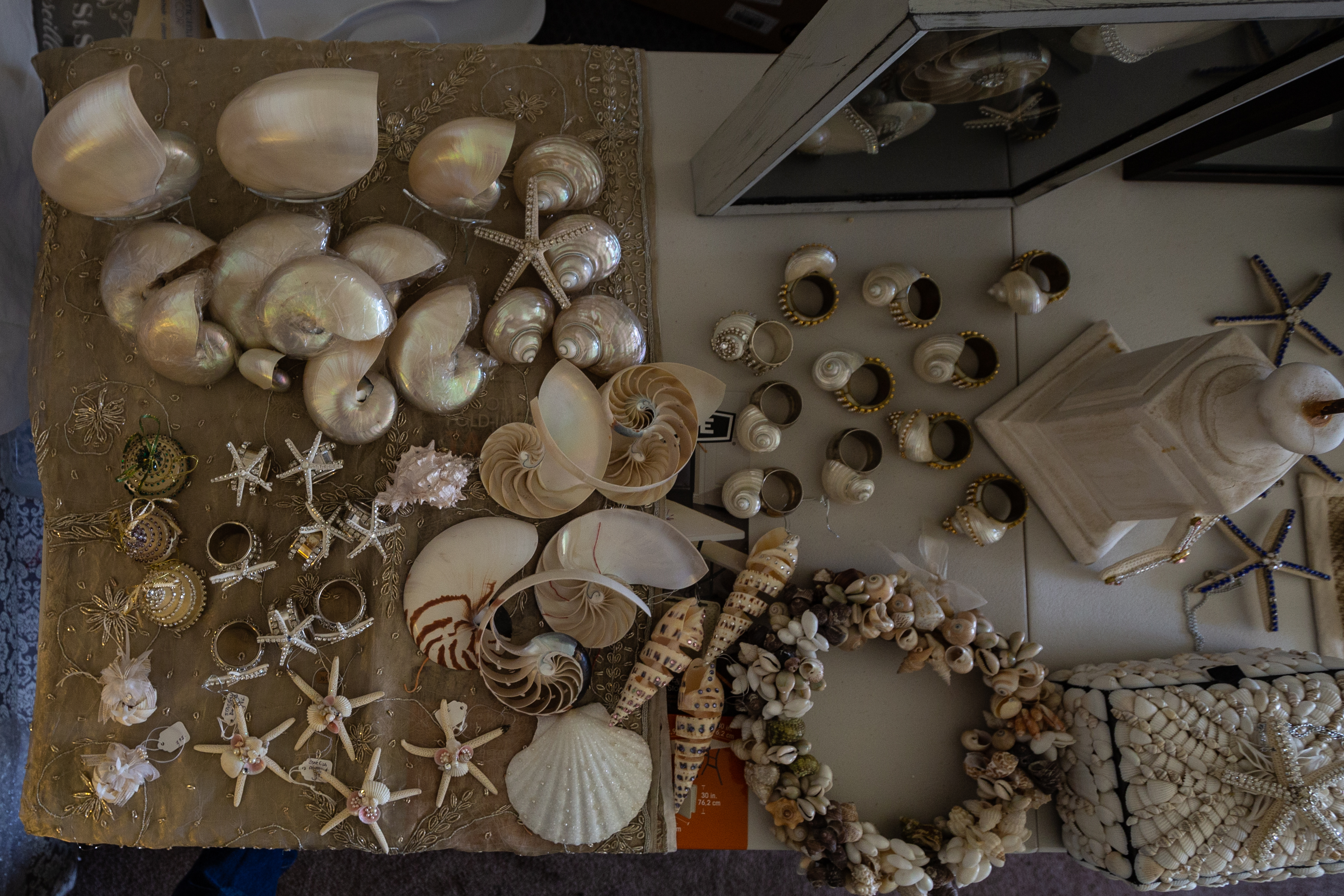 Decorative Seashell Business For Sale - Attn Crafters, Swap Meet Vendors, Antique/Craft Mall Vendors