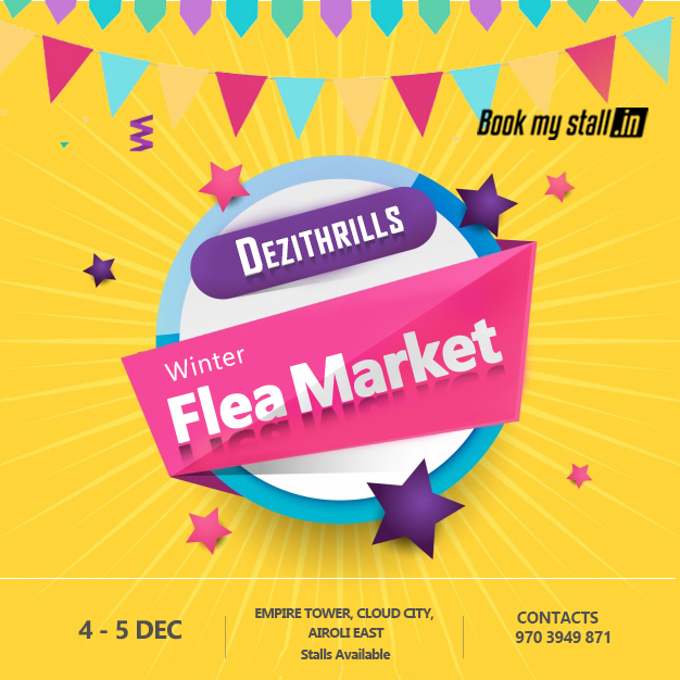 Dezithrillz Winter Flea Market @ IT Park - Mumbai