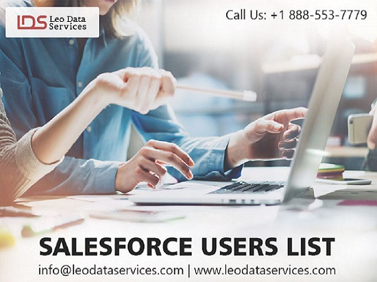 Salesforce Users List - Salesforce Users Mailing List - Leo Data Services