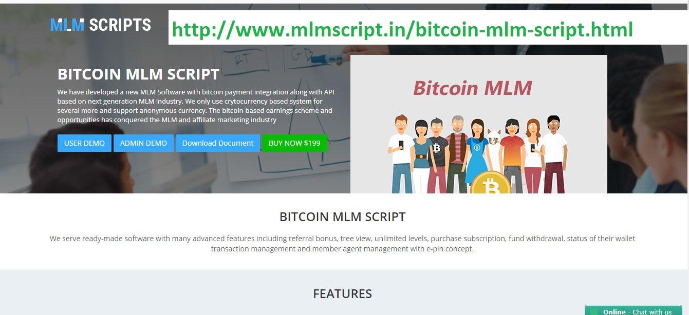 Bitcoin MLM Plan - Bitcoin MLM Software Development