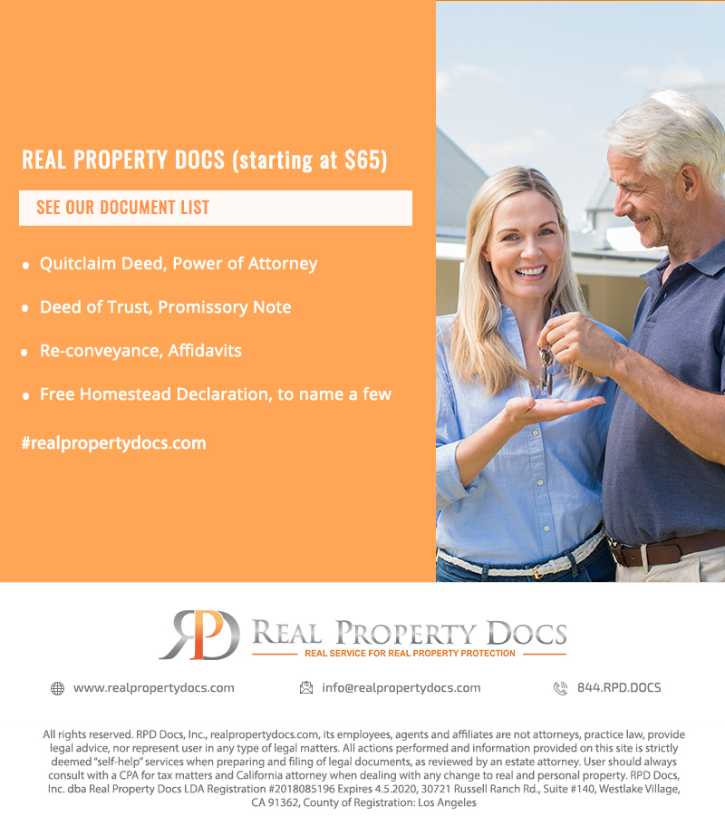 REAL PROPERTY DOCS (starting at $65)
