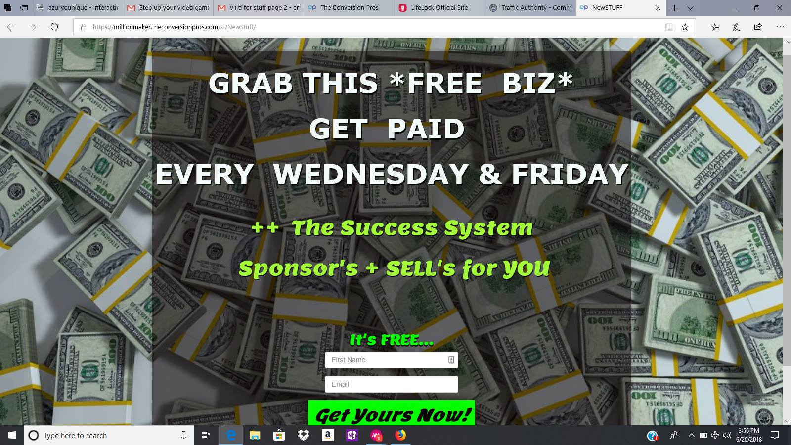 Grab This-FREE-Biz and get paid 3 Incomes per week! [Every Week]
