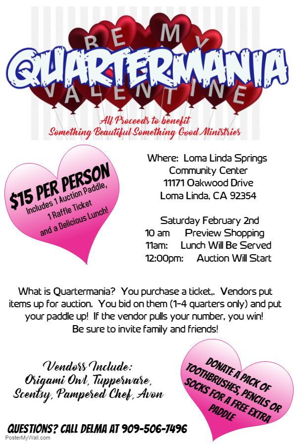Quartermania Fundraiser