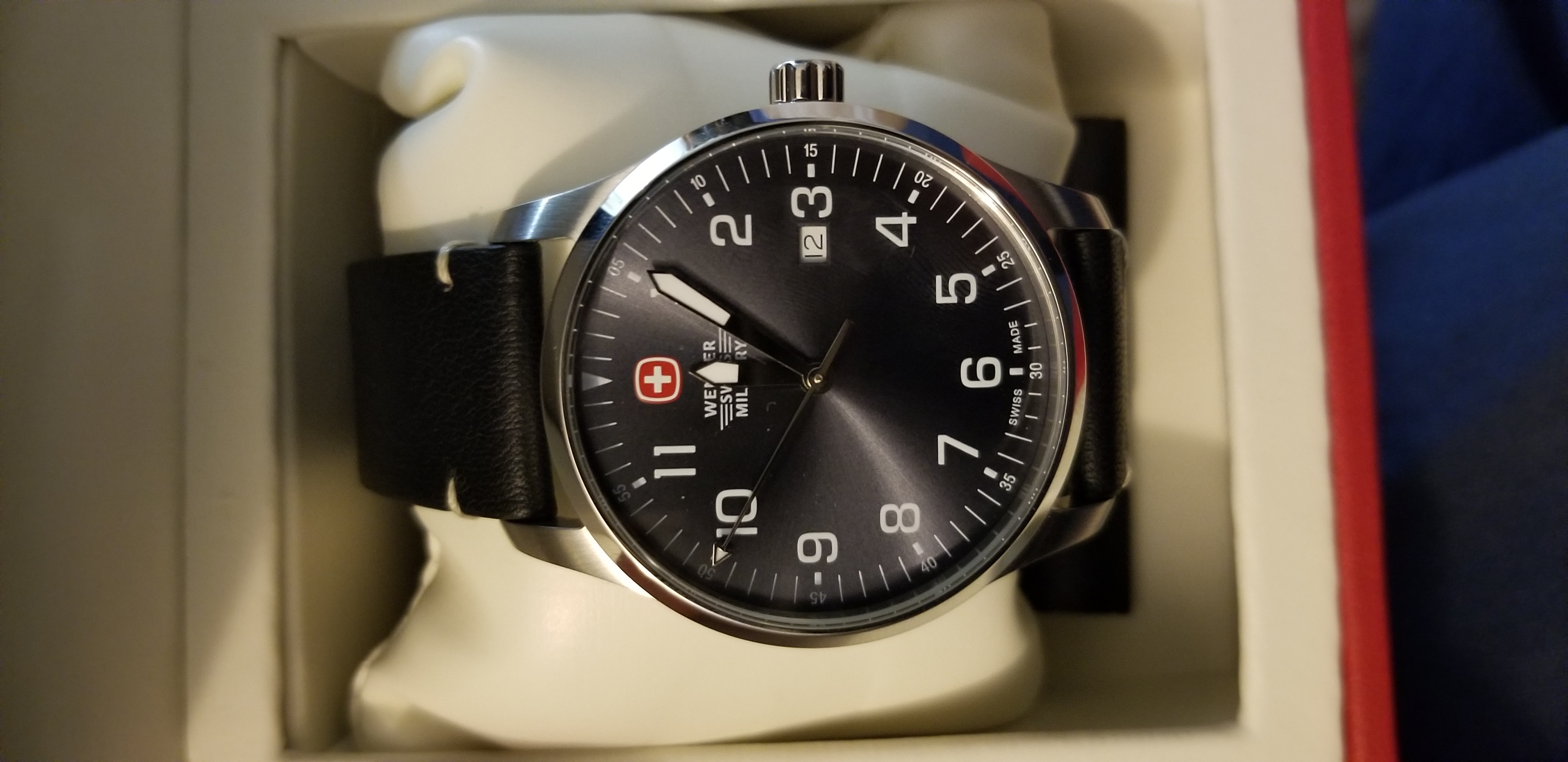 Wenger Swiss Watch (Brand new in box)