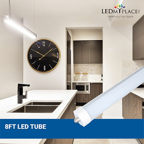 Replace Old Fluorescent Tubes With Modern 8ft LED Tube Lights