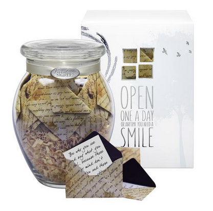 Written Pieces Jar of Notes