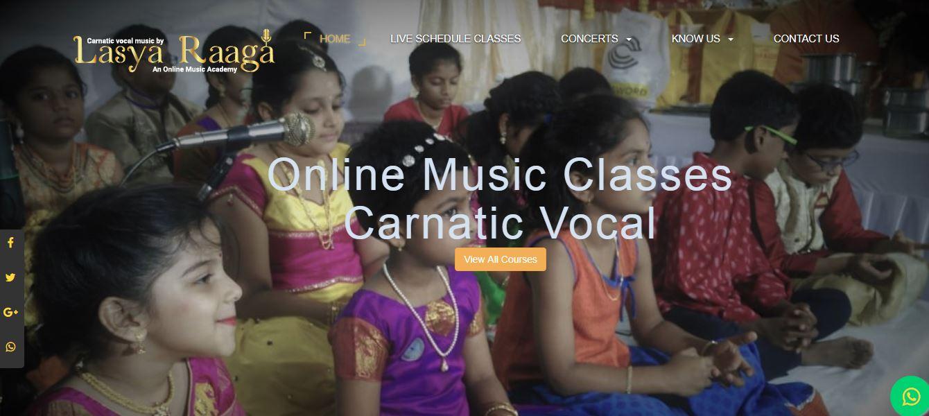 Online carnatic vocal classes