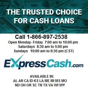1-866-897-2538 Florence Gadsden Auburn Phenix City Decatur Bad Credit Payday Loans