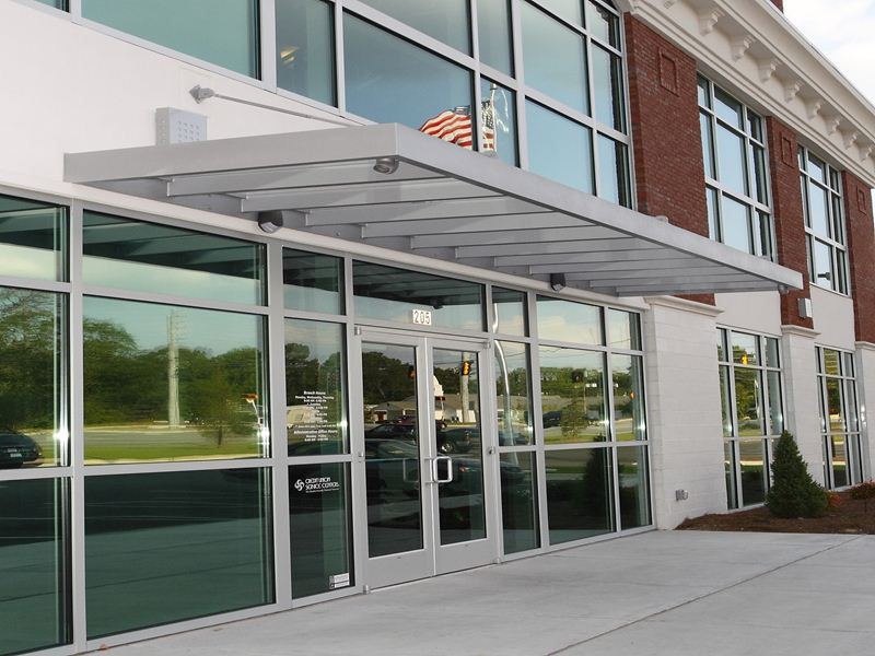 What is the best place to buy metal and glass awnings?
