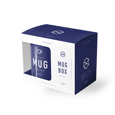 Get Custom Printed Mug Packaging Boxes