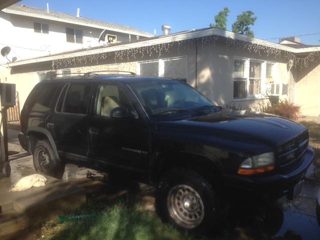 2001 Black Dodge Durango Lifted For Sale $650 OBO