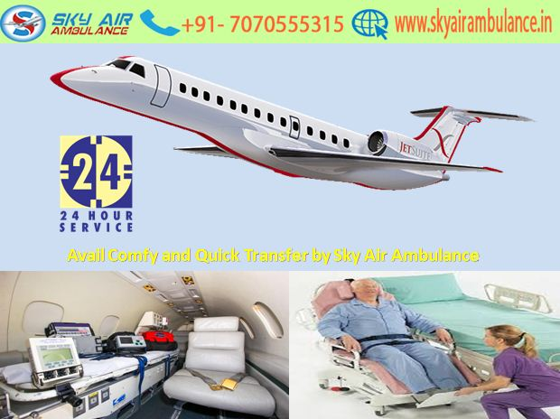 Avail Trustful and Instant Shifting in Silchar by Sky Air Ambulance
