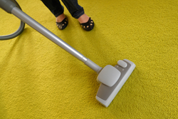 Precision carpet cleaning