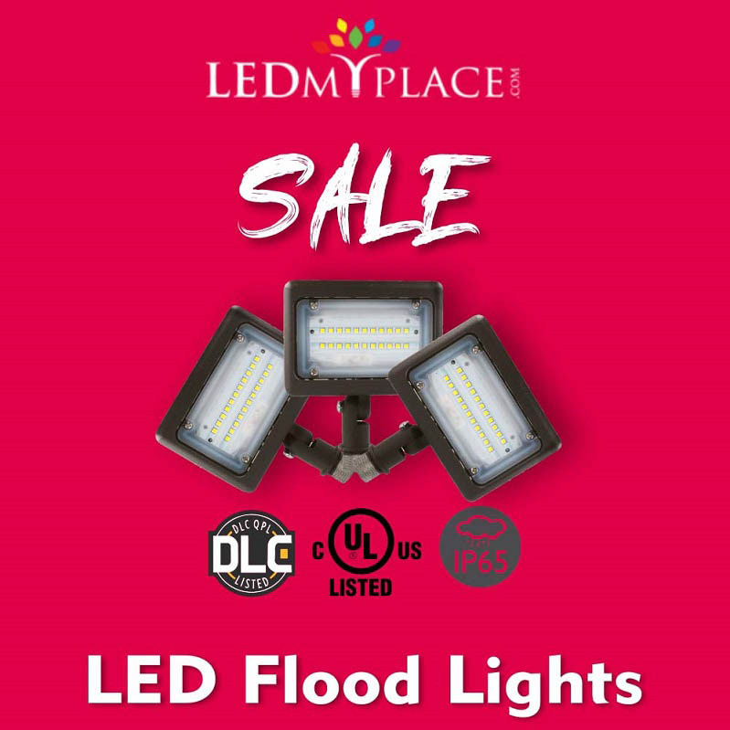 Illuminate Your Spaces With  Brilliant Design LED Flood Lights