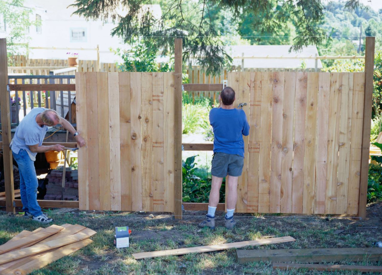 Wood Fences by Hector